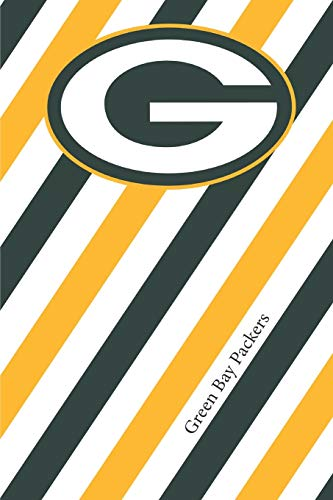 Green Bay Packers: Packers Striped Notebook & Journal | NFL Fan Essential | Packers Fan Appreciation