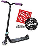 Fuzion Z300 Pro Scooter Complete Trick Scooter -Stunt Scooters for Kids 8 Years and Up, Teens and Adults – Durable, Freestyle Kick Scooter for Boys and Girls (2020 - Black/Neochrome)