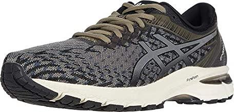 ASICS Men's GT-2000 8 Knit Running Shoes, 11.5, Mink/Black