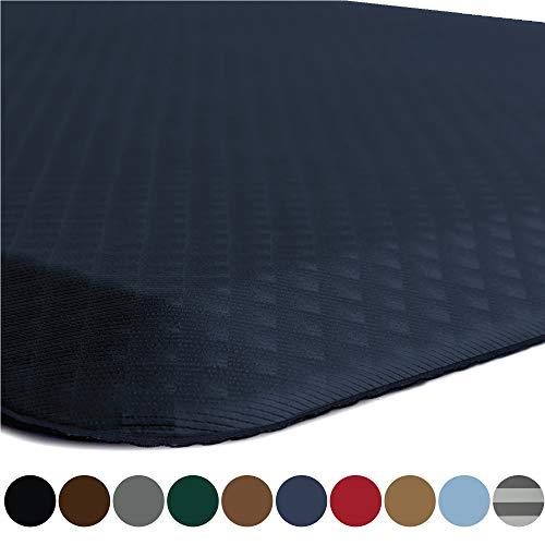 Kangaroo Original Standing Mat Kitchen Rug, Anti Fatigue Comfort Flooring, Phthalate Free, Commercial Grade Pads, Waterproof, Ergonomic Floor Pad for Office Stand Up Desk, 32x20, Navy