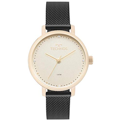 Relógio Technos Feminino Ref: 2035mml/5x Fashion Dourado