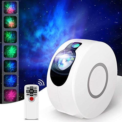 Star Projector, Galaxy Projector with LED Nebula Cloud,Star Light Projector with Remote Control for Kids Adults Bedroom, LED Night Light, SuitableFor Bedroom and Party Decoration