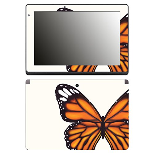 'Disagu Design Skin Cover for Acer Aspire Switch 10 E SW3/013/SF 106491 _ 1274 'Orange Butterfly, Clear