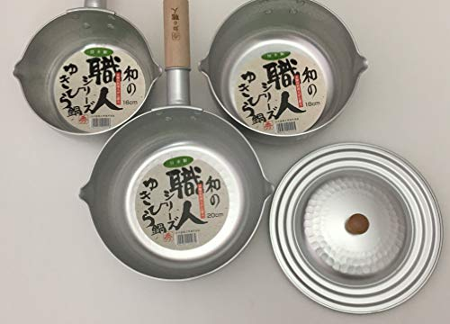 16,18,20 cm for artisans Yukihira pot lid for combined use of metal Taniguchi sum (japan import)