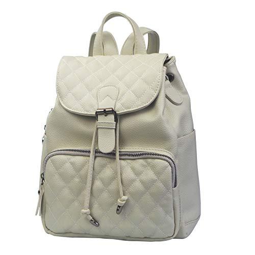 TEAMWIN Borsa a tracolla per borsa da viaggio a tracolla piccola borsa convertibile da donna in pelle PU con stampa zaino