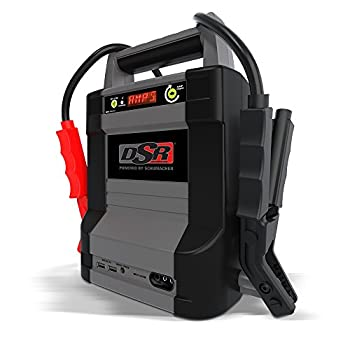 Schumacher DSR ProSeries Rechargeable Lithium Jump Starter - 12V 2000A - Starts V10 Engines - with USB Power Port for Charging Phones Tablets - for Automotive Shop/Dealer Use