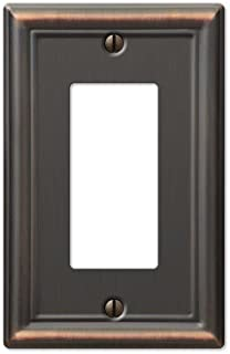 GFCI Decora Rocker Wall Switch Plate Outlet Cover - Oil Rubbed Bronze