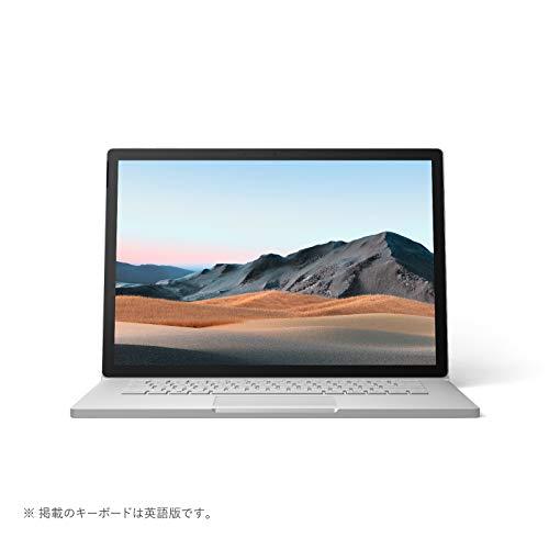 マイクロソフト Surface Book 3 [サーフェス ブック 3 ノートパソコン] Office Home and Business 2019 / 15 インチ PixelSense™ ディスプレイ / Core i7 / 32GB / 512GB dGPU搭載 SMN-00018