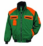 BULLSTAR Allroundblouson 9420 grün/orange, Gr. XL