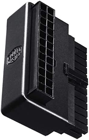 Cooler Master CMA CEMB01XXBK1 GL 24 Pin 90 Degree Adapter with Build in Capacitor product image