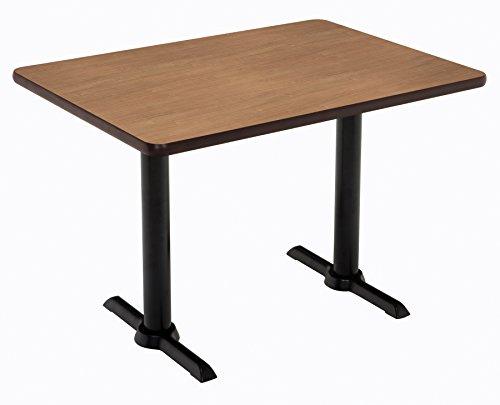 """KFI Seating Mode Multipurpose Table, 30"""" x 60"""" Top, River Cherry -  KFI Studios, T3060-B2065-BK-7937"""