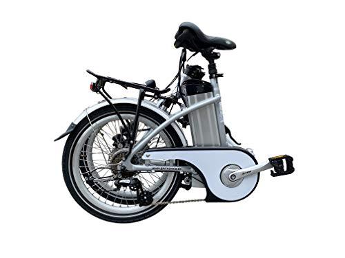GermanXia Elektro-Faltrad Mobilemaster Touring CH 7G Shimano 20 Zoll, eTurbo 250 Watt HR-Antrieb, bis zu 138 km Reichweite nach StVZO Bild 4*