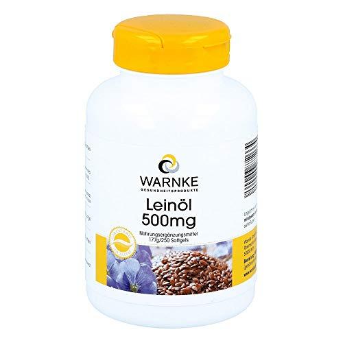 LEINÖL 500 mg Kapseln 250 St