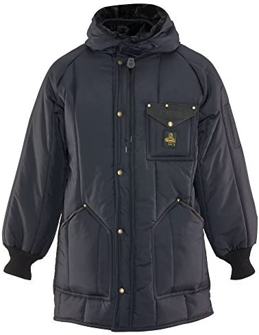 RefrigiWear Iron-Tuff Ice Parka Water-Resistant Insulated Coat with Hood