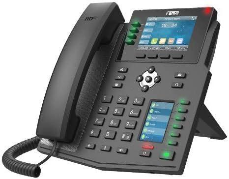 Fanvil X5U 6 line Executive Gigabit Color Display Phone,40 DSS Keys
