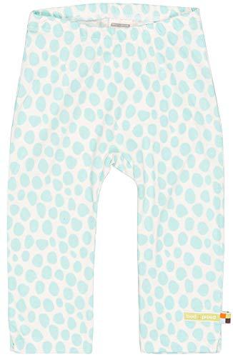loud + proud Mädchen Hose mit Druck, aus Bio Baumwolle, GOTS zertiziziert, Blau (Cloud Cl), 116 (Herstellergröße: 110/116)