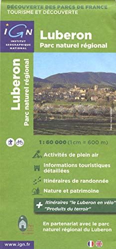 Parc Naturel Regionale du Luberon (Ign Map)