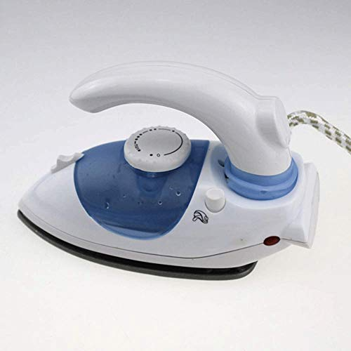 GYDGTJ Utopia Home Steam Iron with Nonstick Soleplate - Small Size Lightweight - Best for Travel - Powerful Steam Output (Blue)