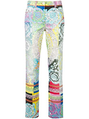 Versace Luxury Fashion Donna A82955A229968A7000 Azzurro Jeans   Stagione Outlet