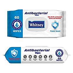 Whitney Antibacterial Wipes