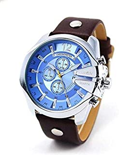 Curren Casual Watch For Men Analog Leather - 8176