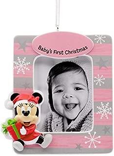 Hallmark Disney Minnie Mouse Baby's First-Christmas Ornament