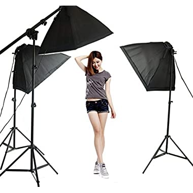 Lightdow Overhead Softbox Continuous Light Photo Studio Youtube Vlog Soft Box Lighting Kit (Model Number: LD-TZ002)