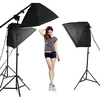 Lightdow Overhead Softbox Continuous Light Photo Studio Youtube Vlog Soft Box Lighting Kit (Model Number: LD-TZ002)