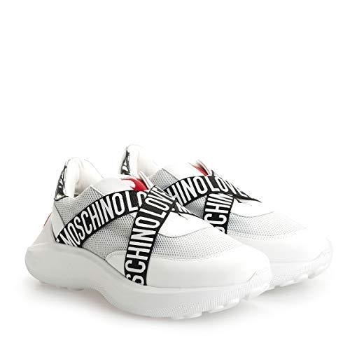 Love Moschino Sneaker Running Bianco JA15166G1BIN101A