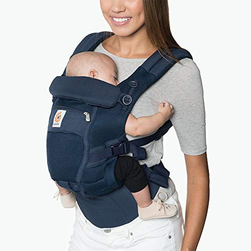 Ergobaby Baby Carrier Adapt Infant to Toddler Carrier with Cool Air Mesh, Deep Blue
