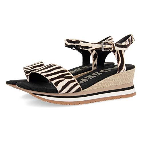 Gioseppo Hardee, Zapatillas sin Cordones para Mujer, Multicolor (Cebra Cebra), 38 EU