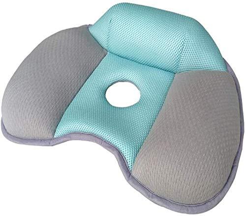 Cojín de asiento ortopédico, rendimiento Alivio de la memoria Cojín de espuma para el alivio del dolor de COCICEX, alivio de presión, por ejemplo.Bedsores para asiento de automóvil, silla de oficina,
