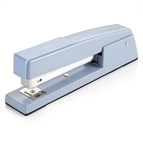 Swingline Stapler 747 Classic Desktop Stapler 20 Sheet Capacity Metal Sky Blue 74708