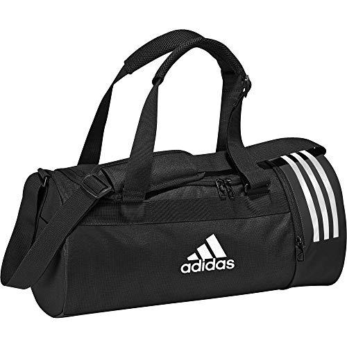 Adidas Cvrt 3s Duf S Borsone, 45 cm, 35 liters, Nero (Negro/blanco/blanco)