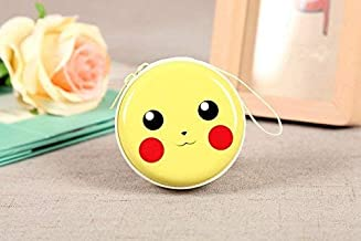 Humble Cute Metal Tin Pouch for Earphone, Coins, Pouch Case (Pikachu)