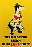 Blechschild HB Männchen ... 20 x 30 cm Reklame Retro Blech 200