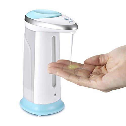 tinxi® 400ml Spender Automatische Seifenspender Infrarot Sensor Berührungsloser Seifendosierer Dispenser für Flüssigseife, Shampoo, Lotion u.s.w