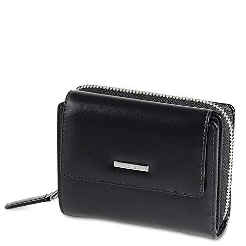 Picard, Damen Portemonnaie, aus Leder, in der Farbe Schwarz, aus der Serie Offenbach, 464201E001