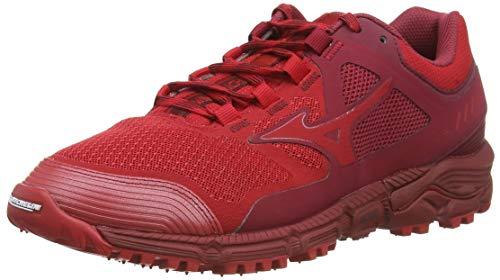 Mizuno Wave Daichi 5, Zapatillas de Running para Asfalto para Hombre, Rojo (Cred/Cred/Biking Red 60), 42 EU