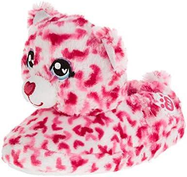 Build A Bear Children Large 1-2 Halloween Magic Kitty Slippers  New