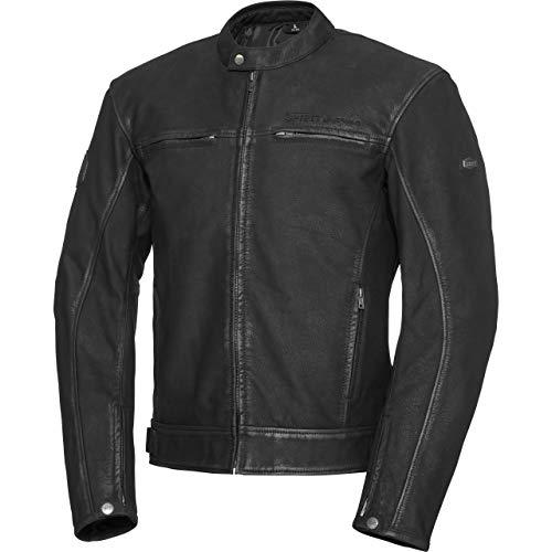 Spirit Motors motorjas met beschermers motor jas vintage stijl leren jasje 1.0 koper, mannen, hakker/kruiser, zomer, leder