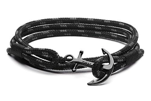 Tom Hope - TM0133 Triple Armband (lengte: 19,5cm / 21cm) - Schwarz L