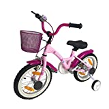 SPACEBABY Kinderfahrrad Mädchenfahrrad Jungenfahrrad Fahrrad 14 Zoll - ab 3