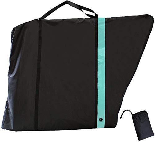 GORIX Bike Travel Bag Case Carry Transport Storage Luggage Road Mountain Bicycle (GX-Ca2) (Celeste)
