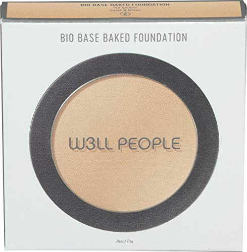 W3LL PEOPLE - Natural Bio Base Baked Foundation   Clean, Non-Toxic Makeup