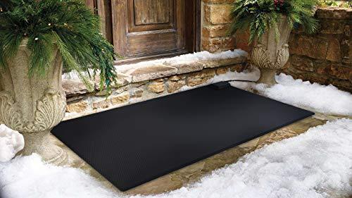 Buy Cheap HeatTrak Heated Snow Melting Entrance Mat - Medium - 30x 48