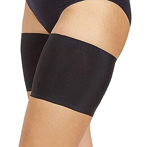 SHOP-STORY - Bande anti-frottement pour les cuisses avec poche de rangement - Beige - Taille L - 68-73 cm
