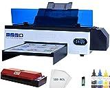 Impresora DTF L1800 A3 Transferencia de calor PET Impresora de película para Dark w Light T-Shirt Sudaderas Prendas Pantalones Directos VS DTG Impresora (DTF Impresora + Horno) -Envío DHL