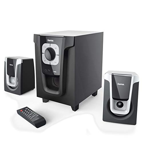 Hama 2.1 geluidssysteem met afstandsbediening, 20 W