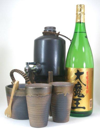 焼酎サーバー全セット版(濱田酒造 黄麹仕込み芋焼酎 大魔王 25度 1800ml )